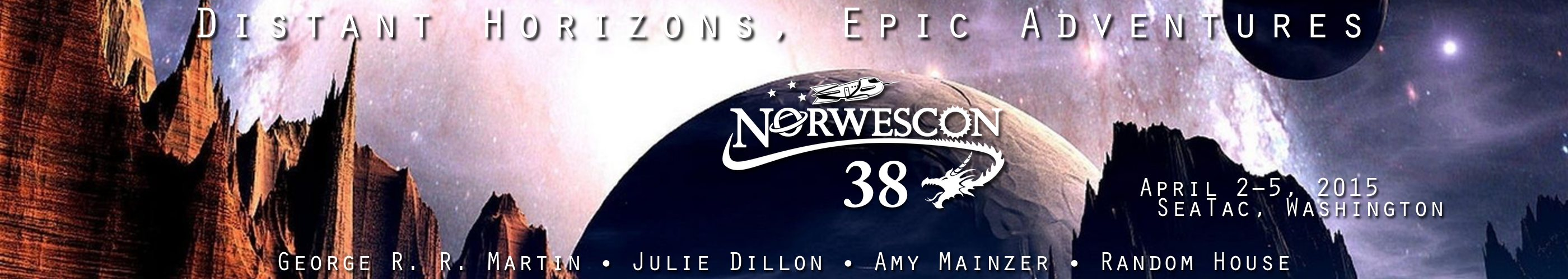 Norwescon 38: Distant Horizons, Epic Adventures