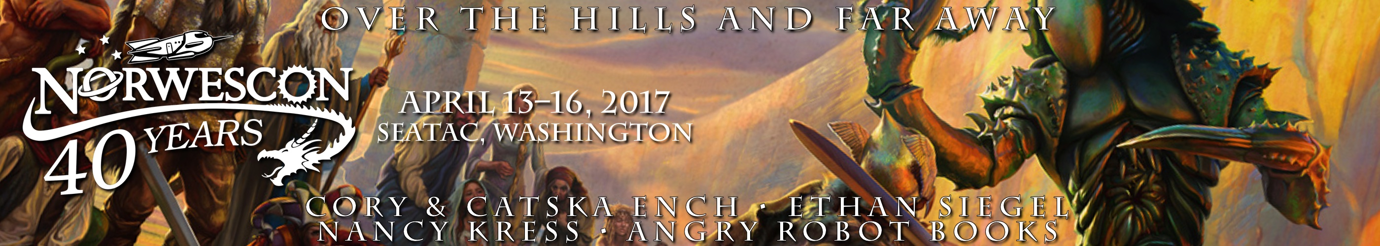 Norwescon 40: Over the Hills and Far Away