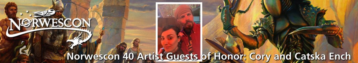 NWC40 Artist Guests of Honor Cory and Catska Ench