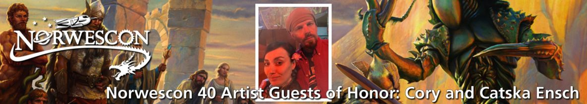 NWC40 Artist Guests of Honor Cory and Catska Ensch