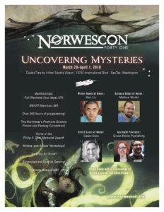 Norwescon 41 Flyer