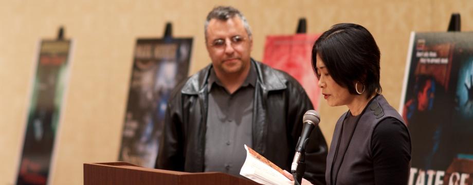 Reading at the NWC34 P. K. Dick Award