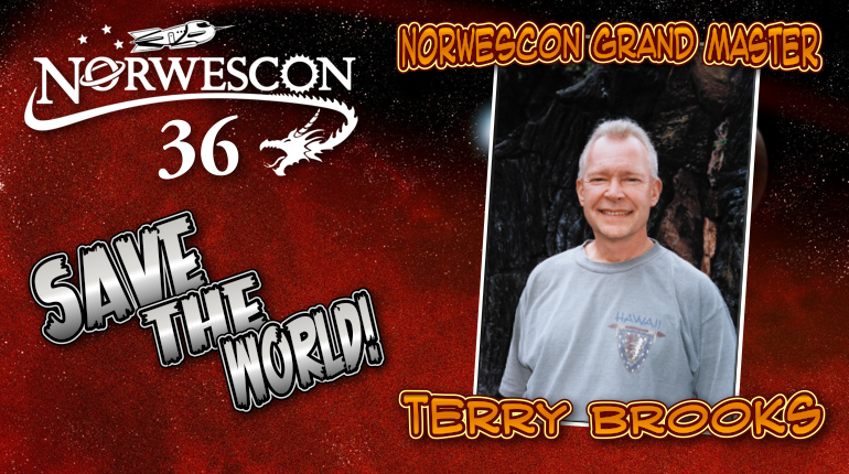 Norwescon Grand Master Terry Brooks