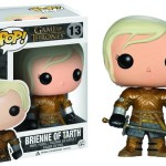 Funko Pop Doll of Brienne, signed