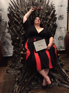 PK Dick Award Winner Meg Eilson on the Iron Throne
