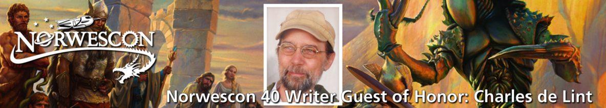 NWC40 Writer GOH: Charles de Lint