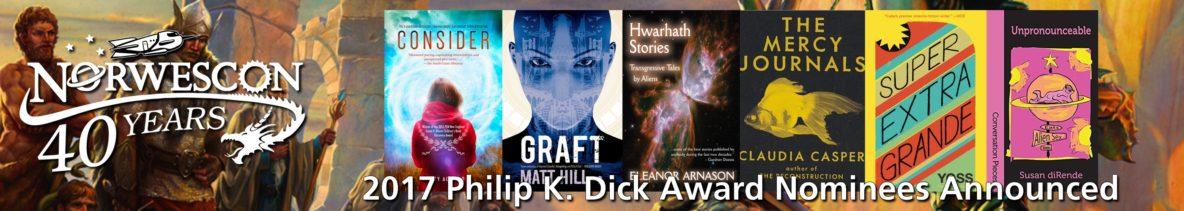 2017 PK Dick Award Nominees