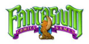 Fantasium Comics and Games Logo