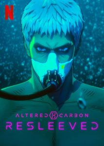 Altered Carbon: Resleeved poster