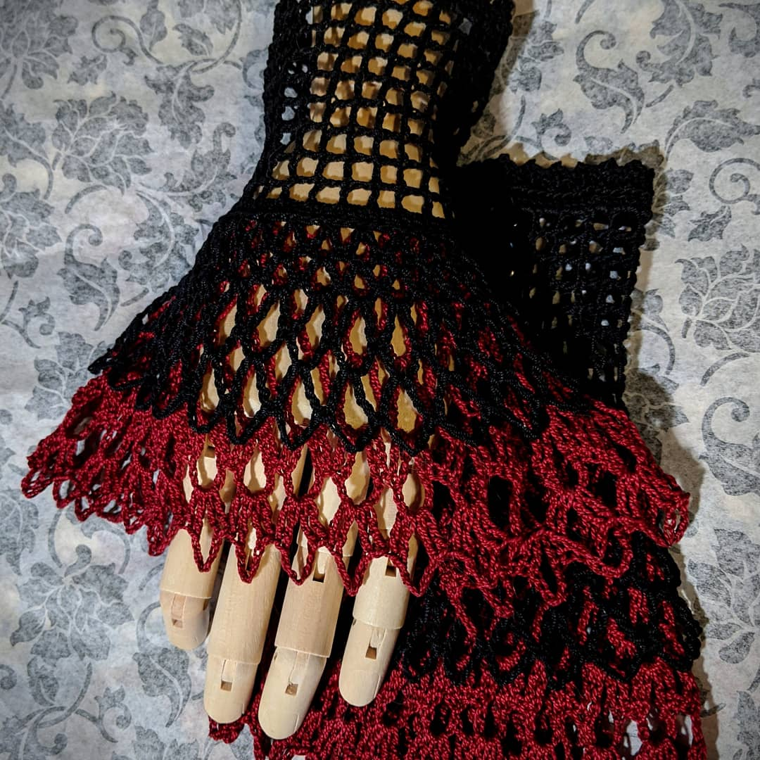 Red and Black Hand