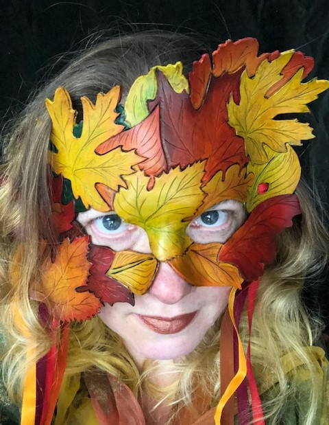 Fall Leaves Mask