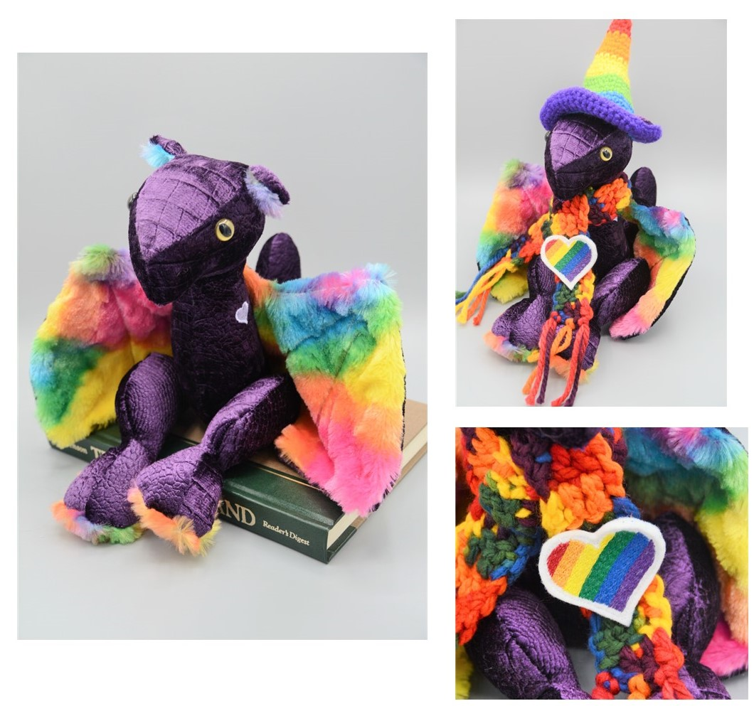 Purple Rainbow Dragon