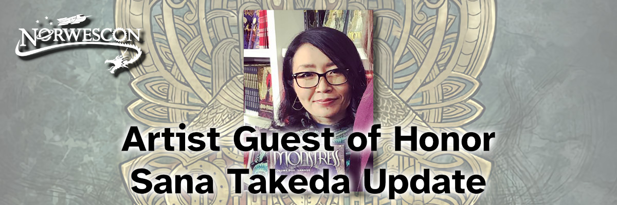 """Featured image for """"Artist Guest of Honor Sana Takeda Update"""""""
