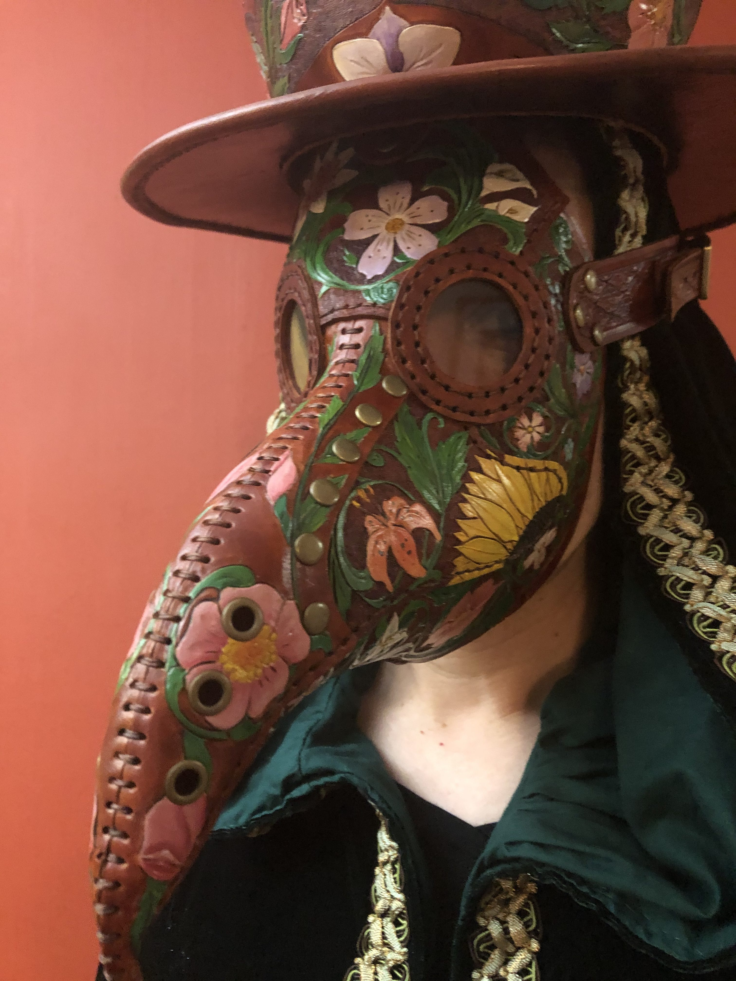 SunnyJim Morgan (Journeyman): Outstanding Work Using Challenging Materials with Superior Technique for The Plague Doctor