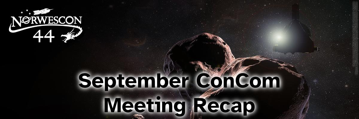 """Featured image for """"September ConCom Recap"""""""